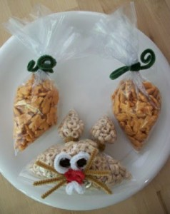 Baggie and Pipe Cleaner Easter Fun!