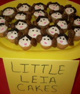 Little Leia Cupcakes