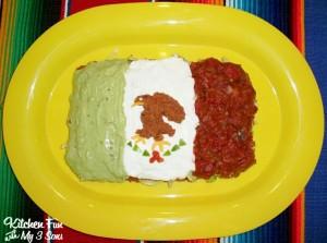 Cinco de Mayo Appetzier –  7 Layer Mexican Flag Dip