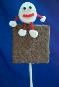 Humpty Dumpty sat on a S'mores pop!