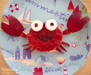 A Crabby Lunch