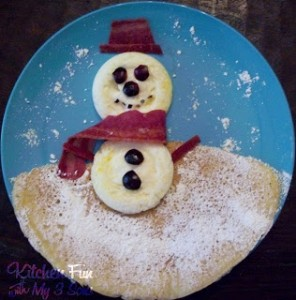 A Frosty Snowman Breakfast!