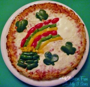 St. Patrick's Pizza Ideas