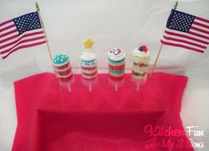 Patriotic Push Pops 4 Ways & Giveaway of Courtney Dial Whitmore Push Up Pops!