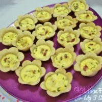 Flower Quiches for Mother's Day or a Spring Brunch!