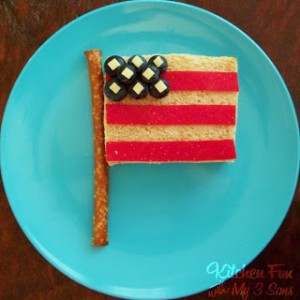 4th of July Flag Lunch