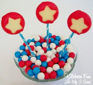 July 4th Babybel Cheese Appetizer or Snack!