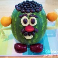 Mr Watermelon Head Kids Snack