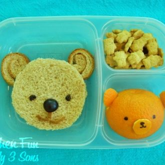 Bento Teddy Bear Lunch for Kids!