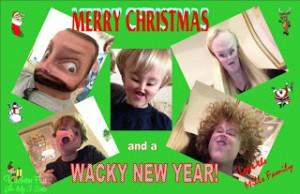 Our Wacky Christmas Card Idea!
