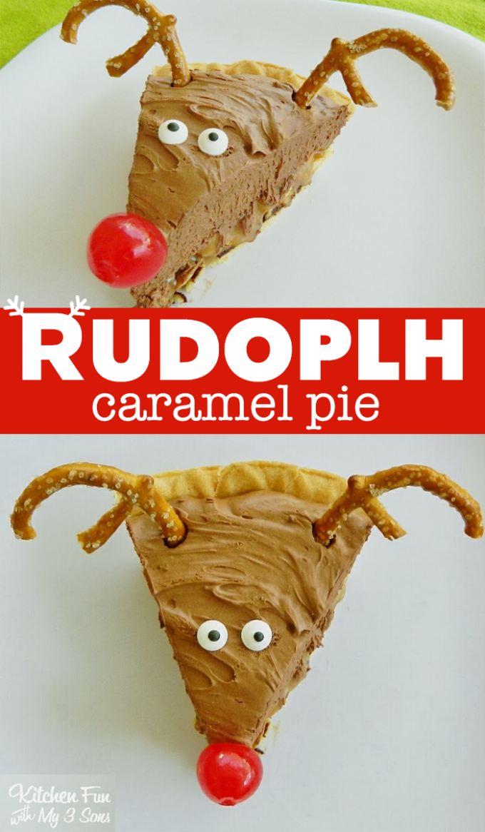 Christmas Reindeer Pie