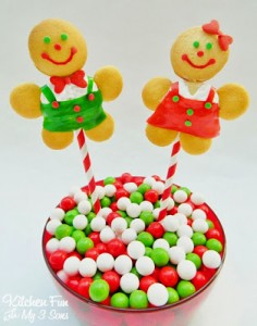 No Gingerbread Boy & Girl Cookie Pops with a BIG Giveaway!