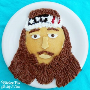Duck Dynasty Willie Pancakes for Breakfast