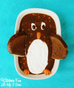 Penguin Black Bean Soup