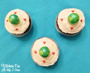 Easy Earth Day Cupcakes