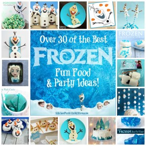 Over 30 of the BEST Frozen Party Ideas!