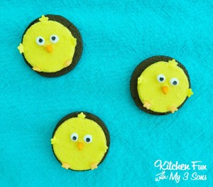 Easy Spring Oreo Chick Cookies