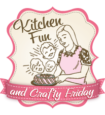 Kitchen Fun and Crafty Friday link party & Star Sandwich Sprinkle Cookies