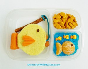 Back to School Tuna Fish Bento Lunch