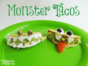 Halloween Monster Tacos