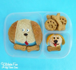 Puppy Dog Bento Lunch