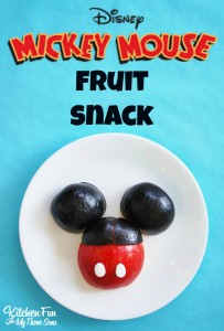 Mickey Mouse Fruit Snack and our Disney Experience!