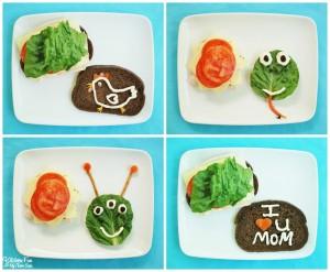 Fun Lunch Ideas for Kids using Hellmann's Mayonnaise!
