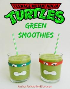 Teenage Mutant Ninja Turtle Green Smoothie