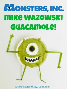 Monsters, Inc. Mike Wazowski Guacamole