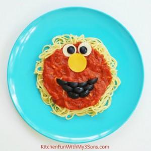 Elmo Sesame Street Spaghetti Dinner