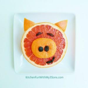 Piggy Grapefruit