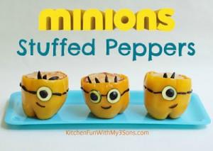 MINIONS Stuffed Peppers