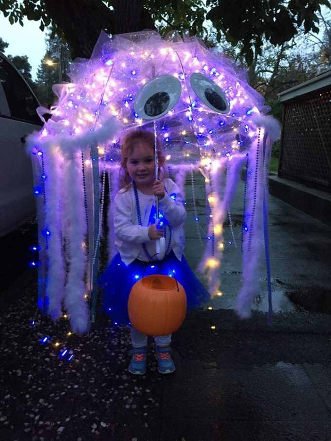 Jellyfish Costume...these are the BEST Homemade Costume ideas for Kids!