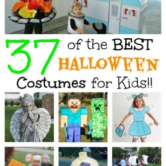 BEST Homemade Halloween Costumes For Kids