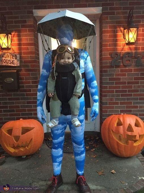Baby Sky Diver Costume