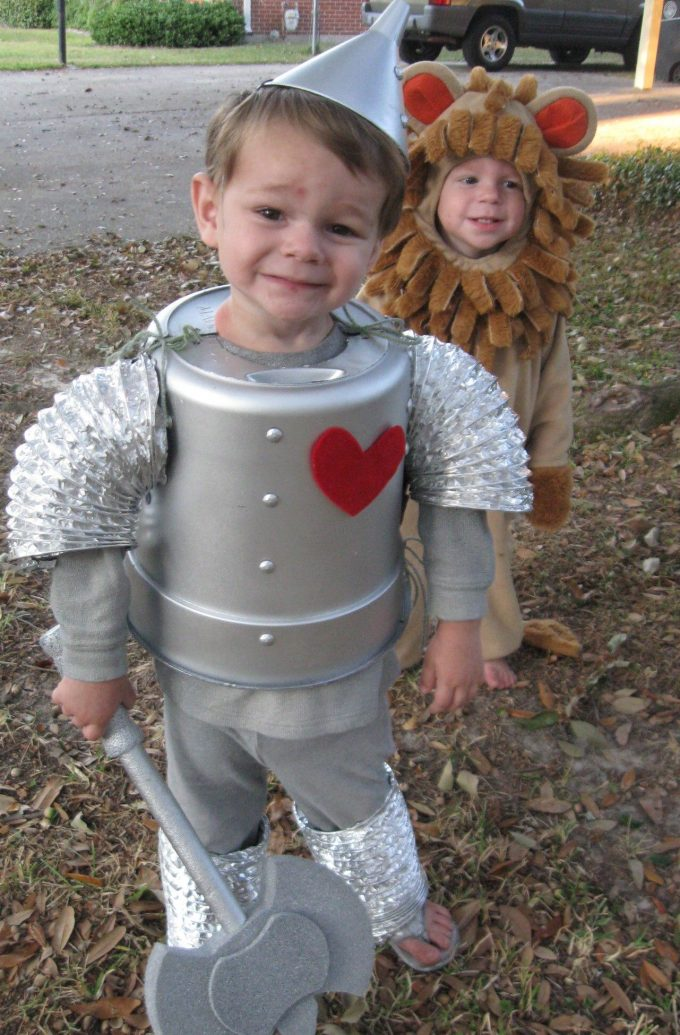 Wizard of Oz Tin Man Costume for Halloween!