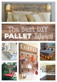 The Best DIY Wood & Pallet Ideas