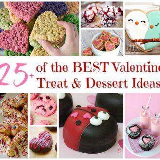 Over 25 of the BEST Valentine's Day Treat & Dessert Ideas!