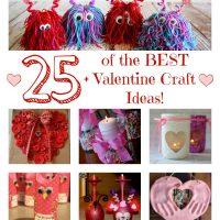 25 + of the BEST Valentine's Day Craft Ideas!