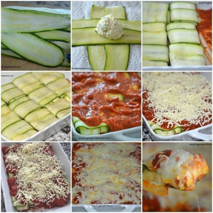Zucchini Ravioli KETO
