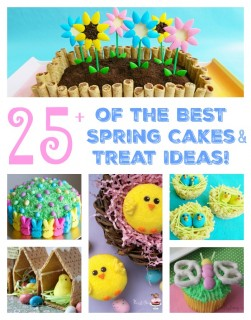 The BEST Spring Cake & Treat Ideas for Easter