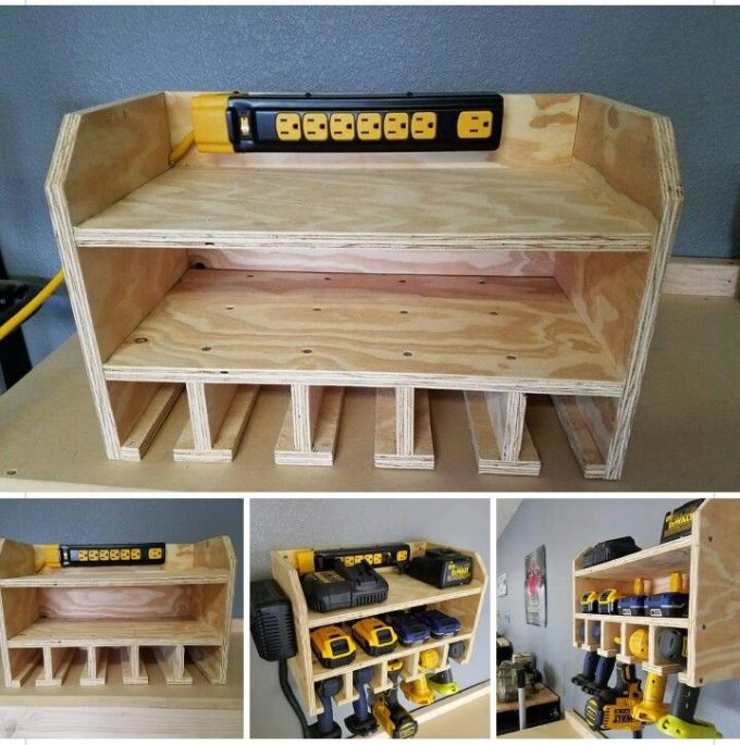 Tool Charging Station