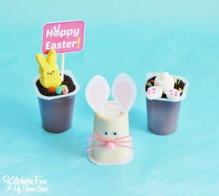 Easter Pudding Cups with Free Printables!