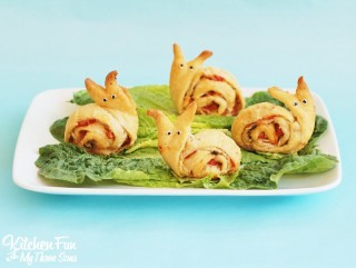 Snail Pesto Pinwheels – Appetizer for Kids
