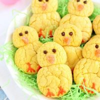 Easter Chick Lemon Cookies