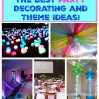 The BEST Party Decorating and Theme Ideas!