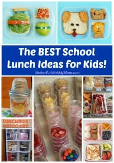 BEST School Lunch Ideas for Kids