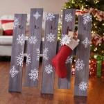 DIY Pallet Stocking Holder