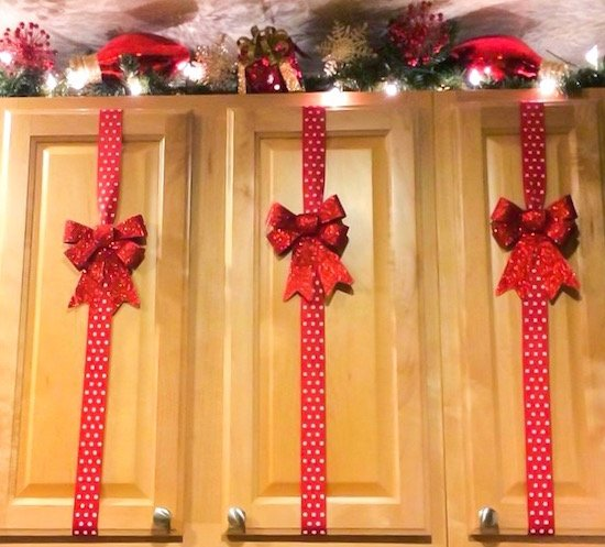 Christmas Present Cabinets