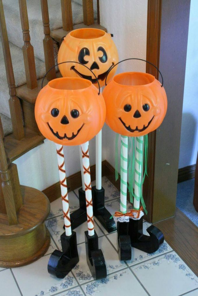DIY Halloween Candy Holders